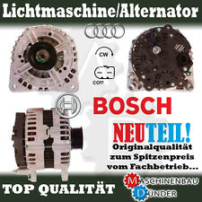 AUDI A4 A6 Q7 Original BOSCH Lichtmaschine Alternator 180A NEW NEU !!!