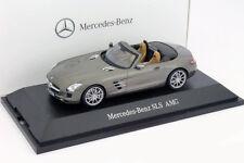 Mercedes-Benz SLS AMG Roadster monza grau 1:43 Schuco