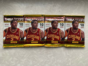 2013-14 NBA Hoops Pack LOT OF 4 Giannis RC? FACTORY SEALED!