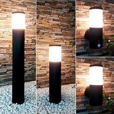 Außenleuchte Bewegungsmelder E27 Wandlampe Standleuchte Gartenleuchte schwarz