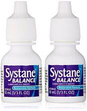 5 Pack Systane Lubricant Eye Drops Restorative 2 Count 0.67Oz Per Box