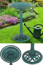 Outdoor Garden Bird Bath Feeder Yard Decor Home Furniture Fountain Water Parrot