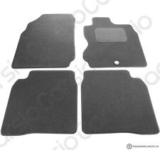 For Nissan Note 2006-2013 MK1 Fully Tailored 4 Piece Black Car Mat Set