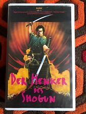 Shogun Assassin - VHS - Pre Cert - Big Box - Video Nasty - German