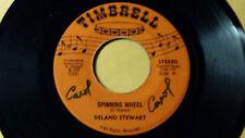 "DELANO STEWART - SPINNING WHEEL / REGGAE 7"" on TIMBRELL LABEL"