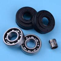 5x Crankshaft Bearings Oil Seal for Husqvarna 340 345 346 350 353 346XP Jonsered