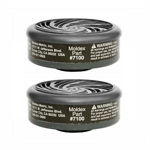 Moldex 7100 Organic Vapor (OV) Cartridges For 7000/7800/9000 Series Respirators