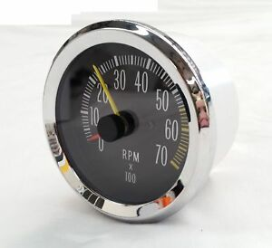 HOLDEN HK HT HG MONARO COUPE GTS TACHOMETER TACHO GAUGE & WIRING 4 6 8 CYLINDER
