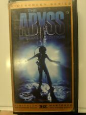 The Abyss (VHS, 2000, Special Edition)