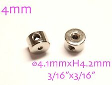 10pcs Metal Flat Wheel Collar for 4mm Shaft RC Plane Landing Gear TH016-00314