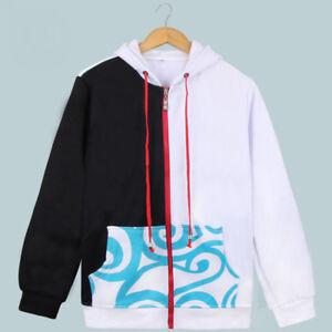 MEW Autumn Anime Gintama Silver Soul Hoodies Cotton Hoodie Sweatshirt Jacket