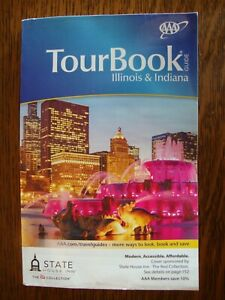 AAA ILLINOIS / INDIANA TourBook Travel Guide Book 2020 FREE SHIPPING!