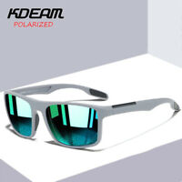 KDEAM Square Polarized Sunglasses Men Outdoor Sport Sunglasses Photochromic