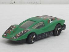 SILVER Bullet n. 3 verde con strisce decoro, senza imballaggio originale, Hot Wheels, 1:64