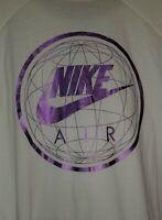 SZ LARGE RARE 🆕Nike Air Worldwide Premium Finish 3/4 Mens Raglan T-Shirt 847523