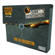 Murder Mystery Party Case Files Fire in Adlerstein Unsolved Mystery Detective Case File Game