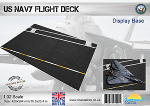 Coastal Kits 1:32 Scale US Navy Flight Deck Display Base