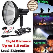 HID Hunting Spotlight Handheld Lamp Shooting + Battery Conversion Clip 12V 100W