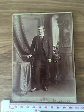 Single Victorian Cabinet Photo by James Bowman of Glasgow of a Gentleman