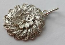 Anhänger filigrane Arbeit 800 Silber Vintage 70er pendant silver