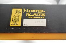 NIB Vintage Nickel Plate Products Full Roomette Pullman Train Set - Japan