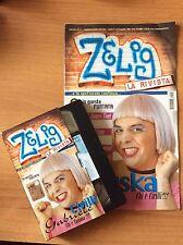 GABRIELE CIRILLI KRUSKA  ZELIG VHS + RIVISTA nr 2  RARA