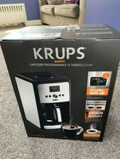 NEW EC3140 KRUPS Savoy 12-Cup Programmable Stainless Steel Coffee Maker UNOPENED