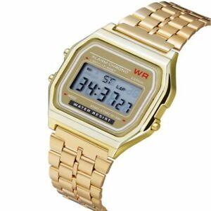 Casio Led Digital Waterproof Quartz Wrist Watch Dress Women Men Casual Watch