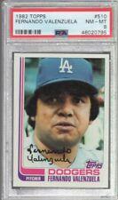 1982 Topps Fernando Valenzuela #510 PSA 8