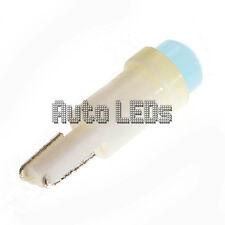 1 ICE BLUE COB LED T5 Wedge 12v LAMPADINA LED Interni