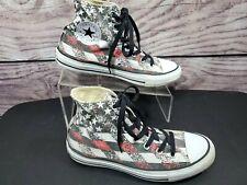 Converse All Star Chuck Taylor Hi Top Shoes American Flag M 6 W 8 147063F
