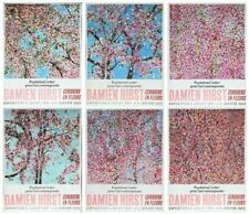 Damien Hirst - Cherry Blossoms - Fondation Cartier - Set of 6 Exhibition posters