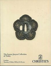 CHRISTIE'S Japanese Sword Fittings Tsuba Jenyns Collection Catalog 1992