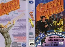 THE GLENN MILLER STORY - VHS - PAL - NEW - Never played! - Original Oz release