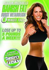 Jillian Michaels: Banish Fat, Boost Metabolism [DVD] *NEU* Fitness Workout