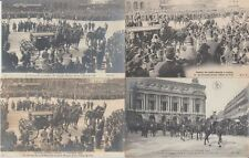 Great Britain Lord Mayer Sir Walter Morgan 1906 Visit Paris 45 Vintage Postcards
