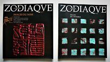 ZODIAQUE, La Revue. 2 numéros : n°5 & n°6. Editions Zodiaque. 2000.