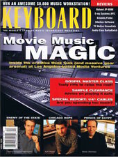 """1/4"""" CABLES Cost,Roland JP-8080 Report,Movie Music,GOSPEL Keyboard 1999 Magazine"""