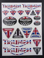Motorrad aufkleber set 20 sticker street speed triple Daytona 675 tiger sprint