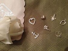 Southern Tradition Wedding Charm Set or for Bridal Ribbon Pulling-Silverplated