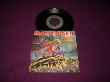 SP IRON MAIDEN / RUN TO THE HILLS / EMI 2C 008 07600 FRENCH PRESS NWOBHM