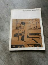 1965 Plywood Home Storage Plans Book