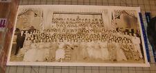 1941 Washington School for Secretaries June Commencement Exercises 10x20 Photo