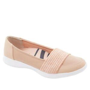 NWT Copper Fit Recovery Mesh Slip-On Shoe Women US 6/EU 36 Blush Pink 8013889