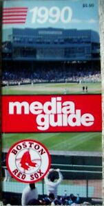 1990 Boston Red Sox Media Guide
