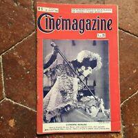 Cinémagazine Catherine Hessling N º 5 Revista 29 Janvier 1926