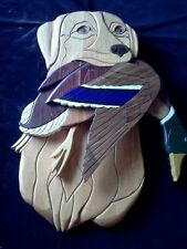 Handcrafted Wood Intarsia Items of Animals & Birds