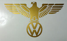 VOLKSWAGEN Beetle Transportador VW Águila Alemana Euro Decal Sticker Dub Bus