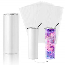 Sublimation Shrink Wrap Sleeves8x12 Inch Clear Sublimation Heat Transfer Shrink