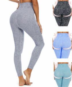 Women's High Waist Seamless Gym Leggings Shark Fitness Ladies Sports Yoga Pants